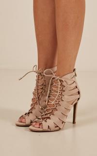 Billini - Carmel heels in nude micro