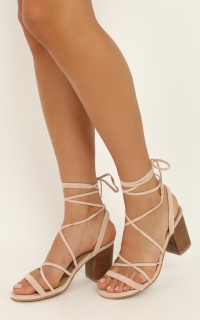 Billini - Cleo Heels In Blush Micro