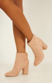 Billini - Dean Boots In Hazelnut Micro