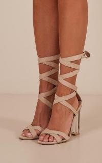 Billini - Izora Heels in skin micro