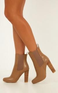 Billini - Lillia Boots In Mocha Burnish