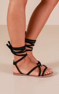 Billini - Madrid Sandals in black suede