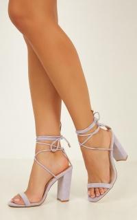 Billini - Oria Heels In Lilac Micro