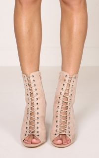 Billini - Bambi Boots in blush micro