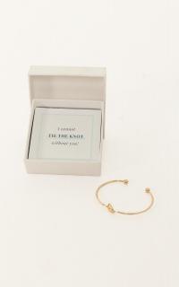 Bridesmaid Proposal Bangle In Gold