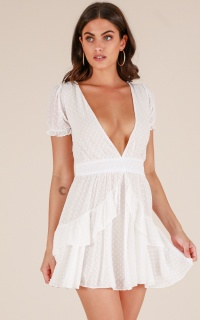 Coco Bella Dress In White
