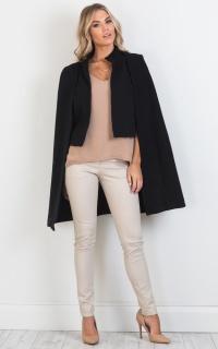 Wintour coat in black