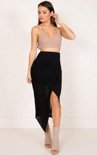 Alana skirt in black
