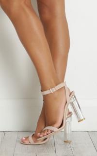 Billini - Fifi Heels in skin micro