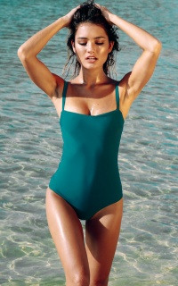 Freestyle one piece in teal