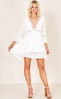 Fun For The Night Dress In White
