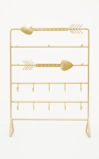 Arrow Of Love Jewellery Holder In Gold