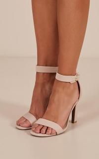 Hurst heels in nude