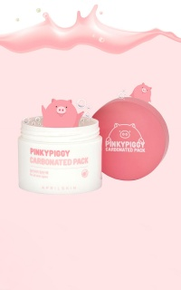 April Skin - Carbonated Pink Clay Mask