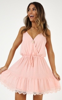 La Parisienne Dress In Blush