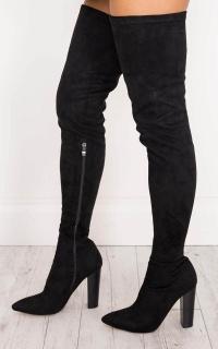 Billini - Odette Boots In Black Micro
