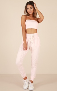 Made For This Pants In Blush