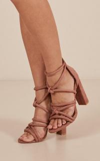 Billini - Lavinia Heels In Mauve Micro