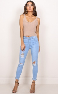 Melinda Jeans In Light Wash