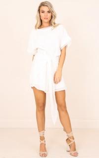 My Girl dress in white