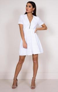 Daisy Jane dress in white