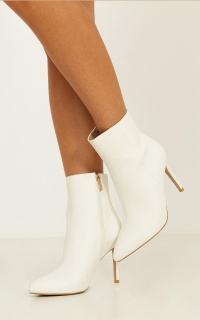 Billini - Nada Boots In White Snake