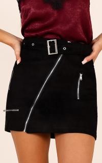 Nobody Else Skirt In Black