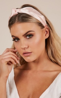 Not Possible headband in blush