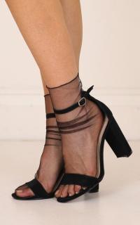 Penny socks in black