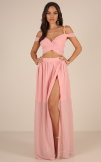 Perfect Pair two piece set in blush