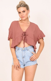Piece Of Me top in plum