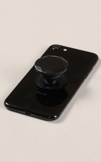 PopSocket in black metallic diamond