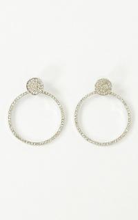 Cant Help Loving Earrings In Silver