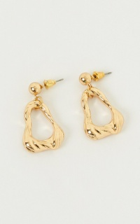 Start All Over Earrings In Gold