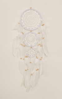 Save The Moment dream catcher in white