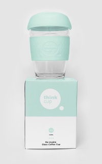 Think Cup in seafoam 12oz