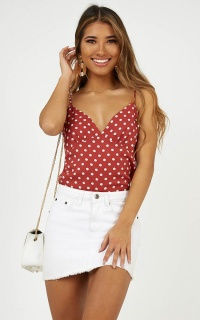 Stargazing Cami In Rose Spot