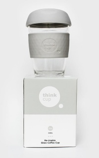 Think Cup in stone 12oz
