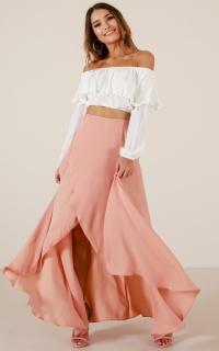 Sweet Like Candy skirt in mocha