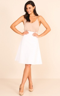 The Exchange Skirt in White