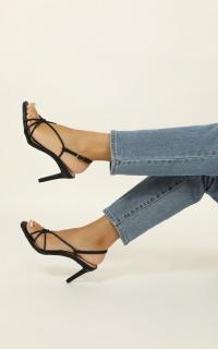 Therapy - Jada Heels In Black