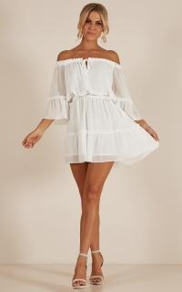 Dream Queen dress in white