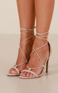 Billini - Casta Heels in nude micro