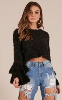 Cozy Cool Knit in Black