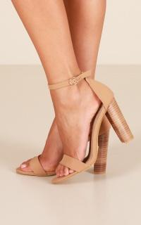 Billini - Jessa Heels In Camel Nubuck