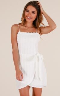 Forgive me dress in white