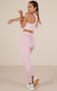 The Limits Tights in Blush