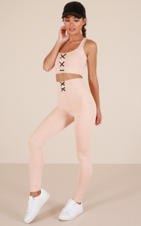 Get Laced Tights in Nude
