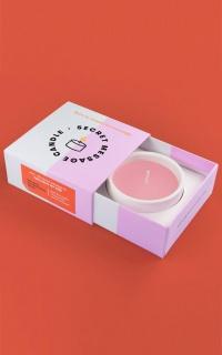 54 Celsius: Secret Message Soy Candle - You Light My Fire