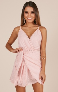 Lost At Sea dress in blush